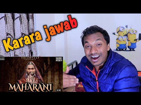 KR$NA - MAHARANI REACTION By ELBW| MAHARANI KR$NA REACTION