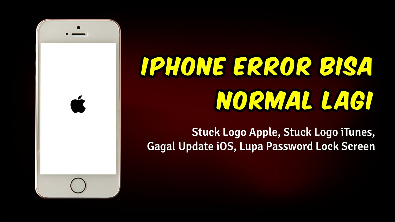 Cara Memperbaiki iPhone Stuck di Logo Apple - iMyFone Fixppo