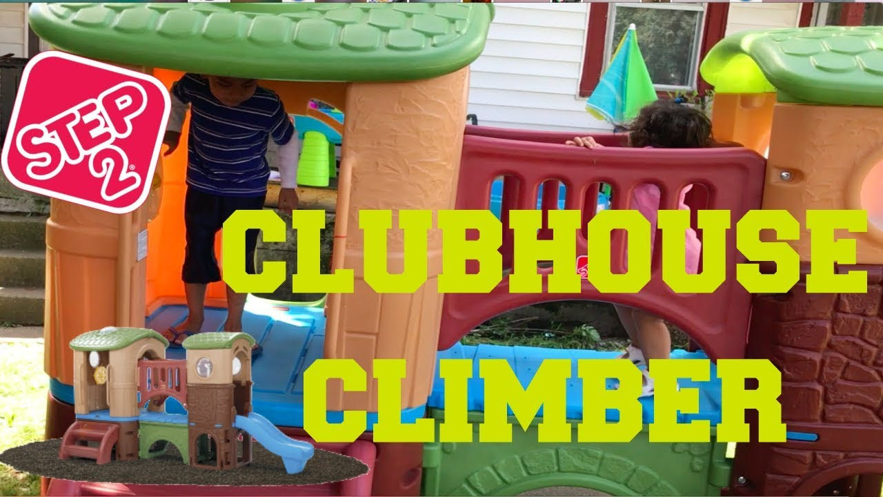 Step 2 Clubhouse Climber Assembykids Reaction Youtube