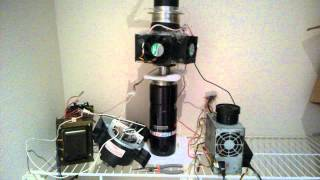 Home made stirling cycle based air liquefier