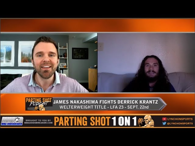 LFA 23's James Nakashima talks 170lb title fight Friday, training at The MMA Lab and fatherhood