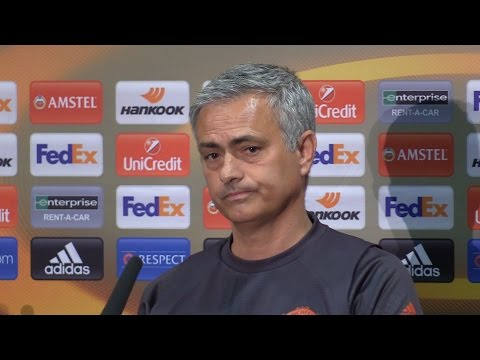 Jose Mourinho Full Pre-Match Press Conference - Manchester United v Celta Vigo - Europa League