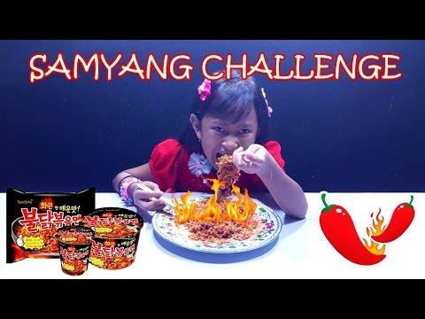 SAMYANG CHALLENGE 💖 Jessica BERHASIL atau GAGAL ??? 💖 KOREAN Spicy Noodles 💖