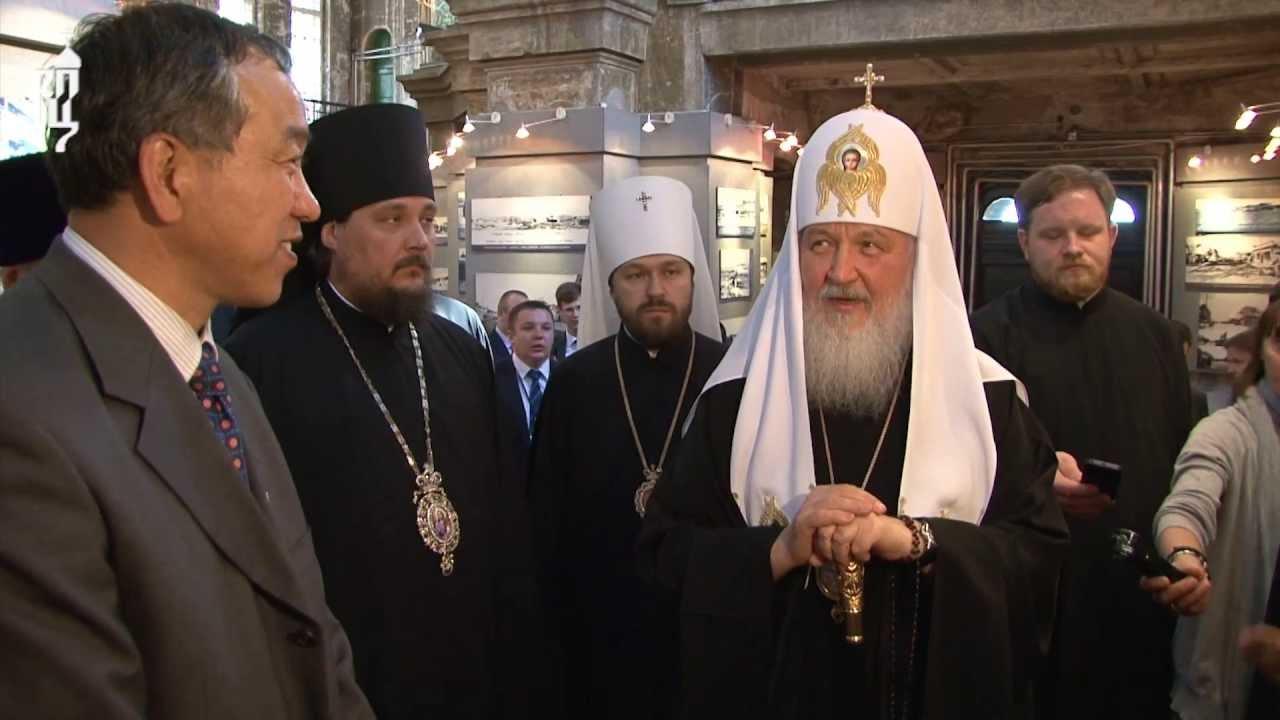 Патриарх Кирилл посетил Софийский собор в Харбине
