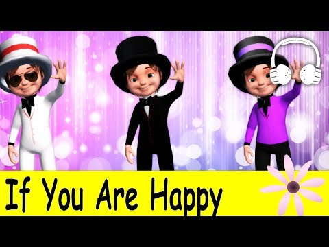 If You Are Happy | Family Sing Along - Muffin Songs