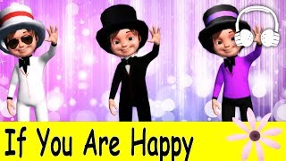 Repeat youtube video If You Are Happy | Family Sing Along - Muffin Songs