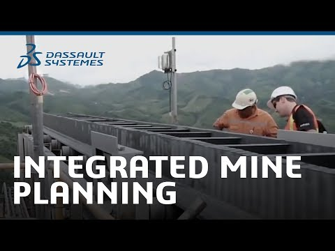 Integrated Mine Planning – Dassault Systèmes