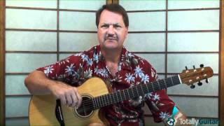 Morning Has Broken  - Guitar Lesson Preview - Cat Stevens
