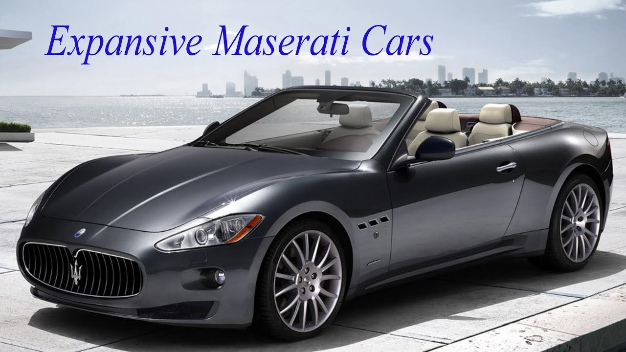 Most Expensive Maserati >> Top 10 Most Expensive Maserati Cars 2018 Youtube