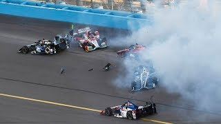 Best Indycar Crashes of 2017