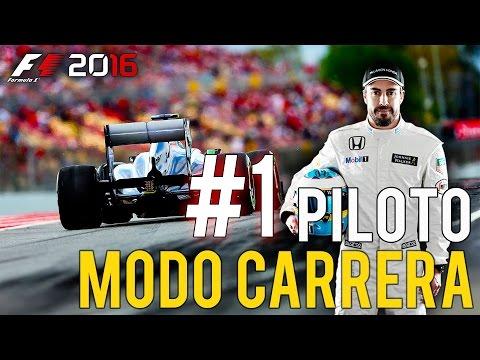 """""""BIENVENIDOS A LA FORMULA ONE"""" F1 2016 Modo Carrera Profesional #1"""