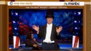 Colbert Mocks Romney's 47% Gaffe - September 18, 2012