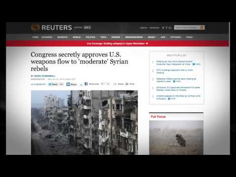The Covert Origins ISiS created by US  Israel CIA to fight in Syria against Assad  invading Lebanon