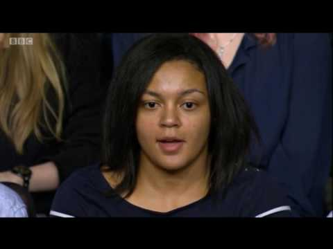 Young Muslim Girl Shuts Down Muslim Apologists In British Town Hall Event Following Manchester Bombi