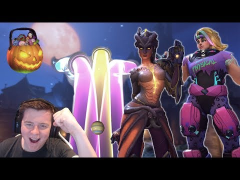 Unboxing 101 Halloween 2017 Lootboxes + Giveaway [Overwatch]