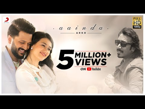 Aainda - Official Video | Arko | Riteish Deshmukh | Madalina Bellariu | Latest Hit Song 2017
