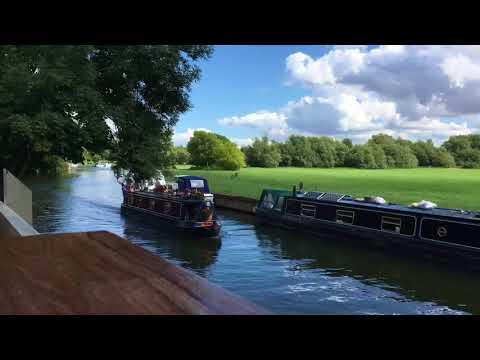 Abingdon on Thames - Riverside Time lapse 15/08/17 pt1