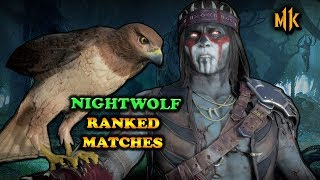 NIGHTWOLF! - RANKED MATCHES ONLINE (Mortal Kombat 11)