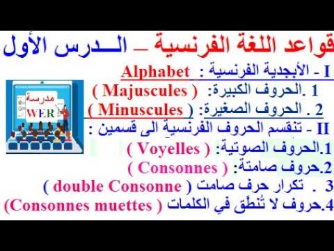 تعلم اللغة الفرنسية في مدرسة WER  : قواعد اللغة الفرنسية من الصفر