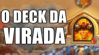 O DECK DA VIRADA ( Armor Warrior ) | Hearthstone