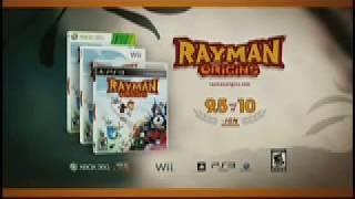 Rayman Origins Commercial (Ubisoft)