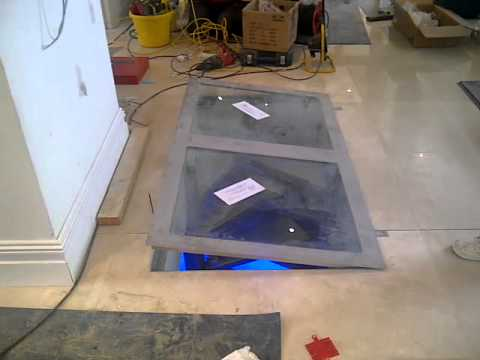 Clear view glass wine cellar trap door from cellar a - Wine cellar trap door ...