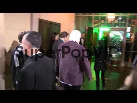 Ruben Fleischer and Michael Tadross arrive at the Gangste...