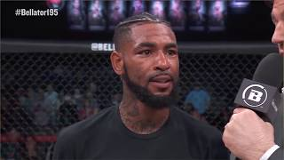 Bellator 195: Darrion Caldwell - Post-Fight Interview with Chael Sonnen