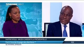 RDC : Martin Fayulu continue de revendiquer sa victoire