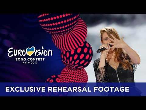 Jana Burčeska - Dance Alone (F.Y.R. Macedonia) EXCLUSIVE Rehearsal footage