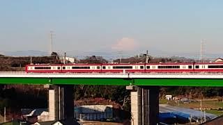 【京急 2100形】富士山バックに走る