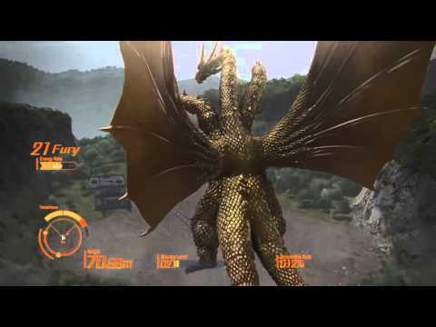 Godzilla ps4 King Ghidorah replay