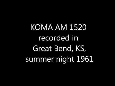 KOMA recorded in Great Bend, Kansas, 1961