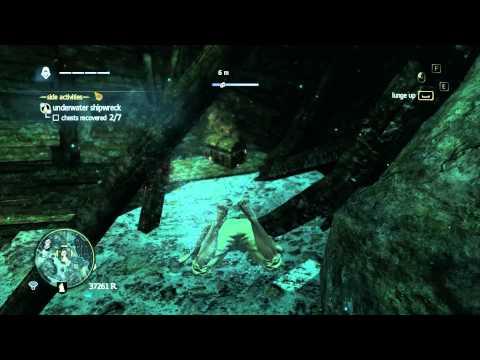 Assassin's Creed IV Black Flag - The Black Wreck - FLOWER SAILS design plan Part: 149 (HD)