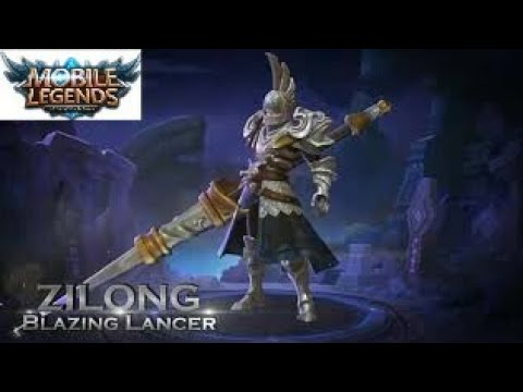 Zilong Skin  Blazing Lancer  Mobile legends  HD Trailer