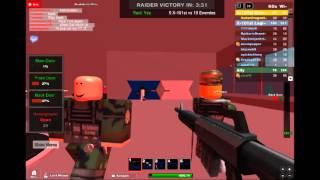 Roblox: TRA Raid Win Agianst X-101st Legion