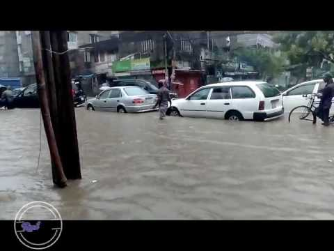 Dhaka city under water( ডুবন্ত ঢাকা ) । Real Life