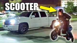 www.idyoutube.xyz-SLEEPER Scooter Goes Street Racing