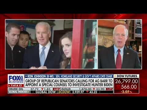 Sen. Johnson Discusses Biden Conflicts of Interest on Mornings with Maria