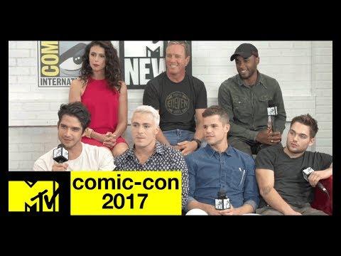 Teen Wolf Live Stream w/ Tyler Posey, Shelley Hennig & More! | Comic-Con 2017 | MTV
