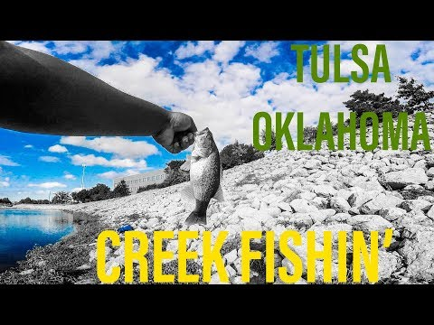 BEST CREEK FISHING IN TULSA, OK! (Best Fishing In Tulsa)