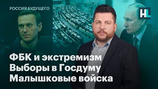 ФБК и экстремизм, выборы в Госдуму, малышковые войска