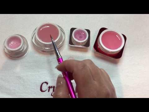 Jämför olika Builder Pink geler