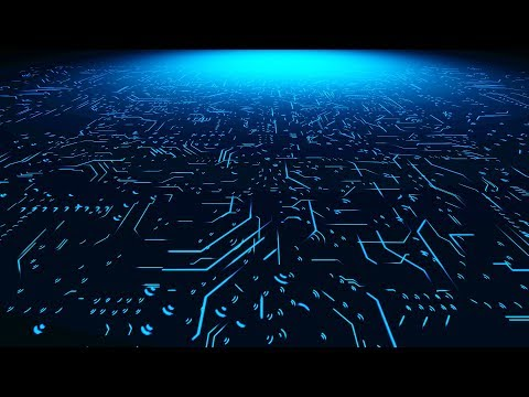 Digital circuit board futuristic Technology background Video - Free 4K Stock Footage