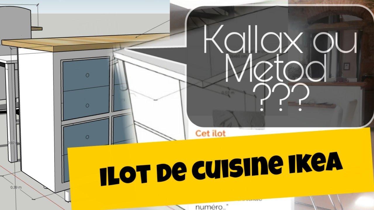 Ilot De Cuisine Ikea Kallax Ou Metod Quelle Est La Meilleure Solution Youtube