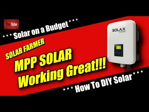 MPP Solar...Working great!