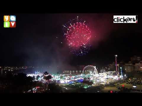 Los Fuegos Artificiales dan fin a la Feria Real de Algeciras 2019 Sábado