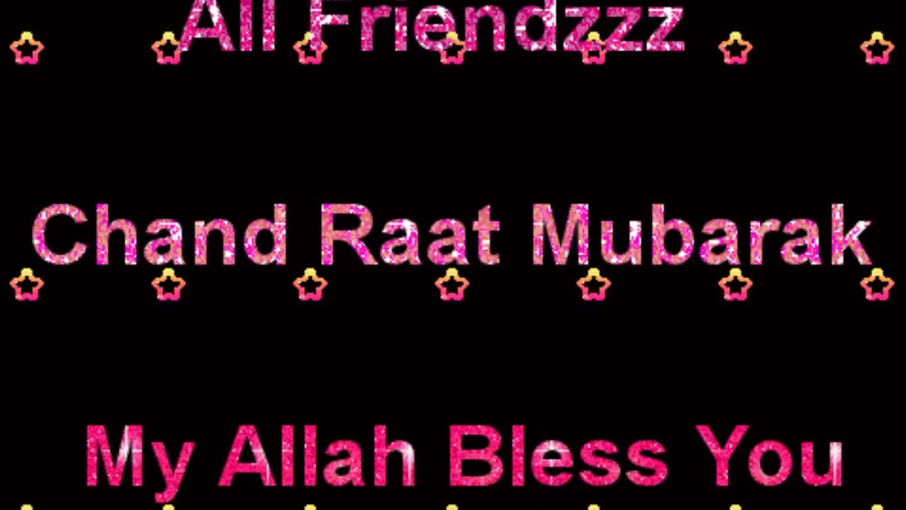 Happy Chand Raat Night Mubarak Wallpapers Whatsaps Eid Greetings