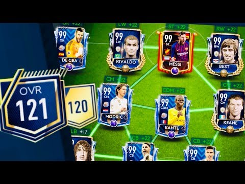 120 OVR ! Highest rated teams and icons in fifa Mobile 19 -Fastest and Free ways to upgrade 100 OVR