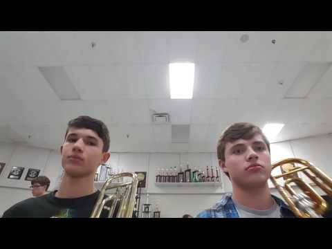 Sleigh Ride from the Trombonist's perspective